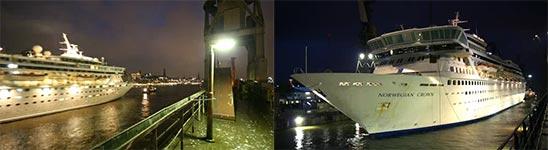 Kreuzfahrtschiff, Blohm & Voss