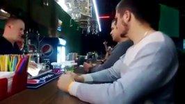 Shot Soldier Russland  Bar Drink Helm