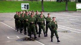 Barbie Girl Russian army