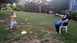Redneck Baseball Angeln