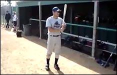 baseball spinning