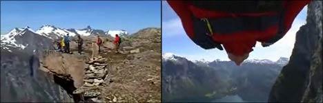basejumping, basejump, fallschirmspringen, jump, bungee
