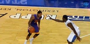 Eigenkorb beim Basketball