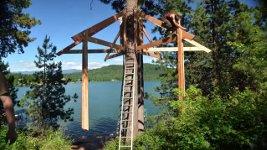 Baumhaus bauen Zeitraffer