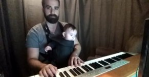 Bearded Piano Lullaby to my Baby