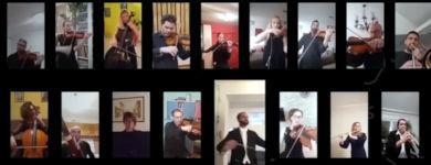 Bella Ciao Videocall Konzert Italien