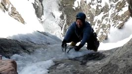 bergsteiger, glück, Eis