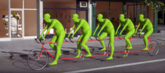 bicycle animation