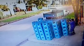 Bier Kisten Domino Fail