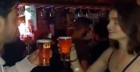 Bier Wette Trinken