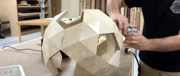 Ball aus Sperrholz bauen