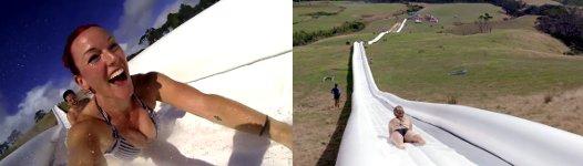längste Wasserrutsche der Welt