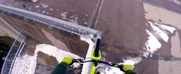 BMX Staudamm balancieren