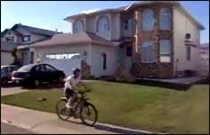 bike, fahrrad, sturz, überschlag