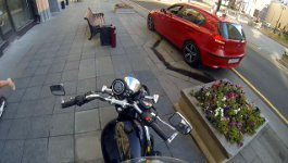 Motorrad, Russland, Müll