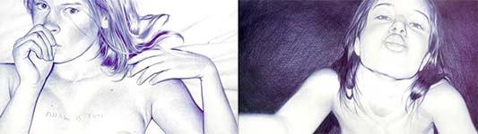 kugelschreiber, malen, kunst, bilder
