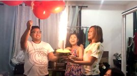 Geburtstag Luftballons Feuer Helium Explosion