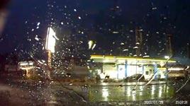 Blitzeinschlag, Tankstelle