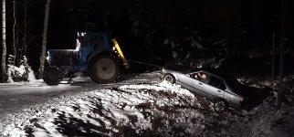 Rettung BMW Traktor