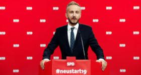 Jan Böhmermann als SPD Vorsitzender