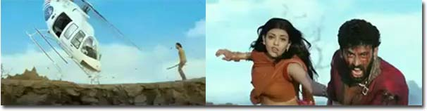 Bollywood, Hubschrauber, Action, Indien