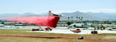 Brandbekämpfung aus der Luft