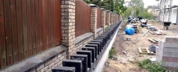 Baustelle Domino Steine