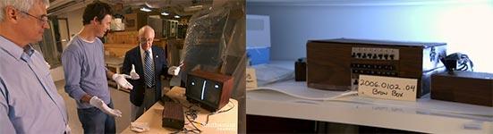 brown box, Video-Konsole