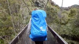 Hängebrücke Neuseeland Einsturz