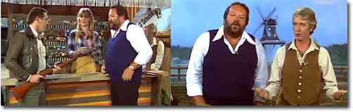 Bud Spencer, Rudi Carrell, Dieter Krebs