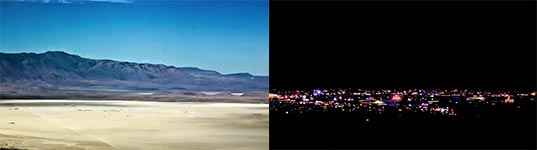 Burning Man 2011 Time Lapse