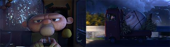 burp, schwein, ufo, animation