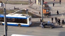 Russland, Bus, abschleppen