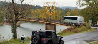 Bus Brücke Gewicht