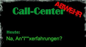 call center analsexerfahrungen