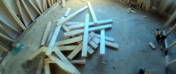 Stuhl bauen Holz