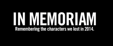 Characters We Lost in 2014