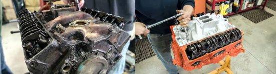 Chevrolet V8 Motorüberholung Zeitraffer