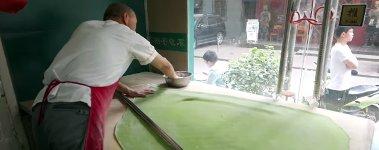 Chinesische Spinat Nudeln