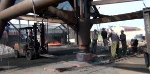 Chinesische Stahlschmiede