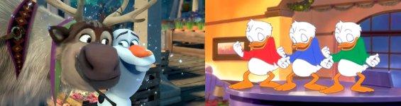 Disney Mashup Weihnachten