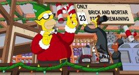 Weihnachten Simpsons
