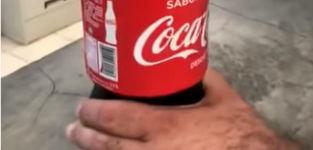 Coca Cola Versteck