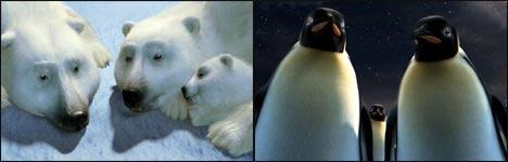 coca cola, bären, eisbären, pinguine, werbespot zu weihnachten