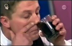 Cola durch die Nase
