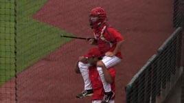 College Baseball Rain Delay Jousting