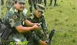 Columbian Army Mortar FAIL