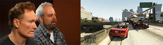 Conan O'Brien, Grand Theft Auto V