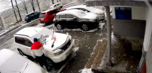 Wladiwostok Auto Unfall Eis