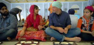 kochen Menschen Delhi Temple Indien